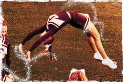 cheerleader backflip