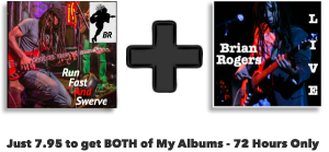 Just 7.95 to get BOTH of my albums- 72 Hours Only!