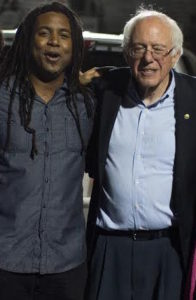 After opening for Sen. Bernie Sanders at his Sacramento Rally at Bonney Field