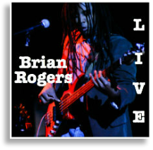 brian rogers live album cover